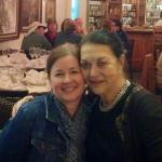 Katy (right) is a sweetheart! Love her restaurant!