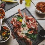 Iberian ham wedding reception