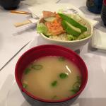 The Salad and the Miso Soup