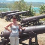 Wifey and lots of cannons