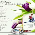 Ven a festejar a MAMÁ con nosotros este domingo 10 de mayo