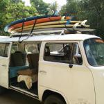 La combi lista para el surf