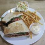 """Club Sandwich"" at The Pantry (13/Apr/15)."