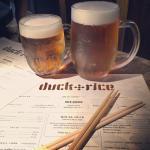 Beers and a Menu