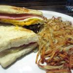Breakfast Sandwich, Bodines Casino, Carson City, NV