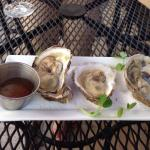 Nice oyster plate