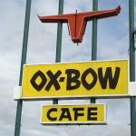 Oxbow Cafe Sign, Bliss, Idaho