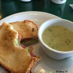 Oxbow BLT and Housemade Asparagus Soup