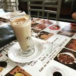 An old school cafe that has perfected the cappuccino! Delicious!