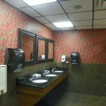 Clean ladies restroom