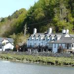View of the George III from the Mawddach Estuary