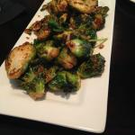 appetizer crispy Brussels sprouts