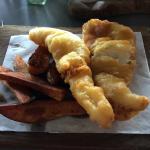 Tempura haddock was amazing!