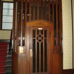The beautiful elevator