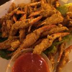 1/2 order fried crab claws