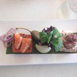 Exquisito Dúo de Steak Tartar y Tartar de Salmón!!