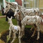 Beautiful hand crafted Horses