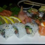 Sushi combo at Green Mango