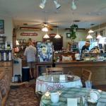 cafe register and kitchen