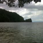 Another view of Macqueripe Bay