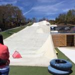 The dry ski slope & ringos