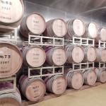能登ワイン工場見学 ワイン貯蔵庫