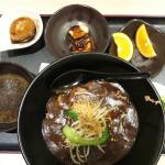Beef Kway teow in thick gravy set