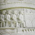 A detail from the Waggoners monument