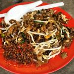 Fried Kway Teow with the chilli...