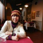Inside the trattoria