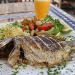 Day trip to Essaouira -  my lunch by the sea