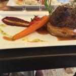 Pavé de bœuf dans le menu a 35 euros