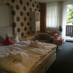Romantikdoppelzimmer vom Eingansbereich