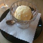 Мороженое с амарето