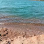 Kiessee Northeim kleiner Sandstrand