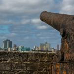 View of Havana from lower battery