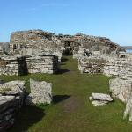 Main entrance to the fortress of the Broch o'Gurness