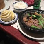 pain tibétain, marmite de boeuf