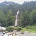Restaurant Wasserfall Foto