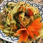 Som Tam Boo Pha Ra... Hot & spicy Papaya Salad