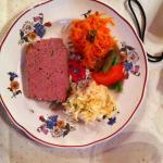 terrine en salade