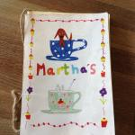 Martha's tea rooms menu