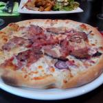 Pizza andouille camenbert