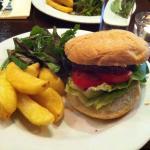 Hamburger de viande d'agneau