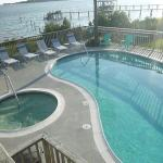 Unit 101 - pool and hot tub right next to the balcony