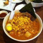 Hot and spicy Vegetarian Ramen !