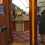 The take-out counter