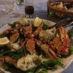 This local crab dish was amazing