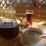 Суп с угрем и суп-харчо