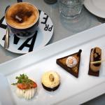 """Trio of Chocolate"" Plate"